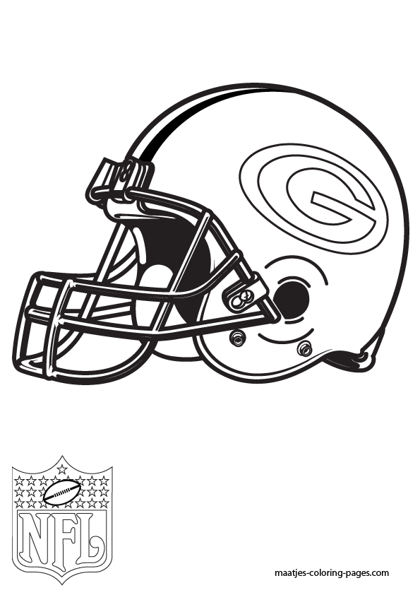 595x842 Green Bay Packers Coloring Pages
