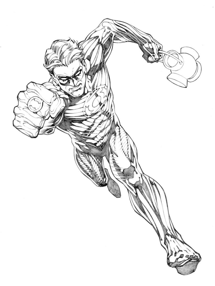 900x1196 Green Lantern Concept By Randygreen Lineart Green Lanterns
