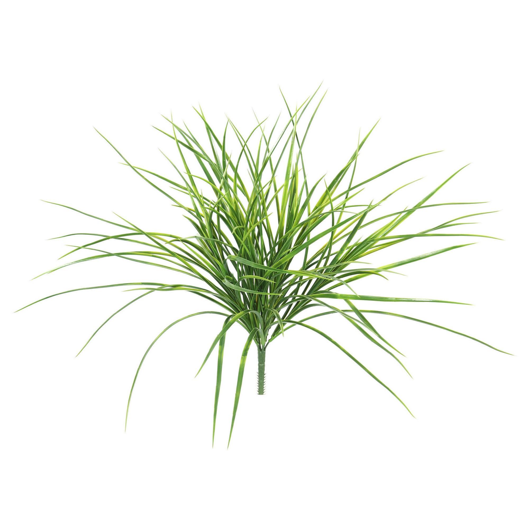 2000x2000 Artificial Plastic Grass Bush (20) Green