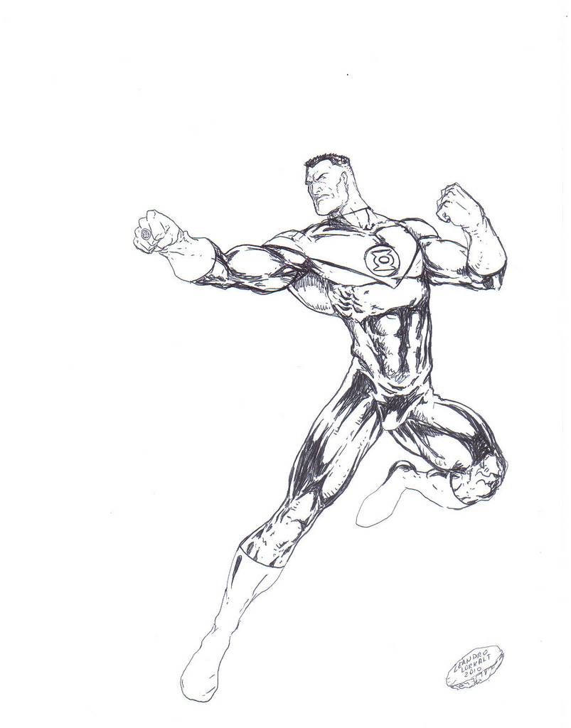803x1024 Green Lantern Coloring Pages