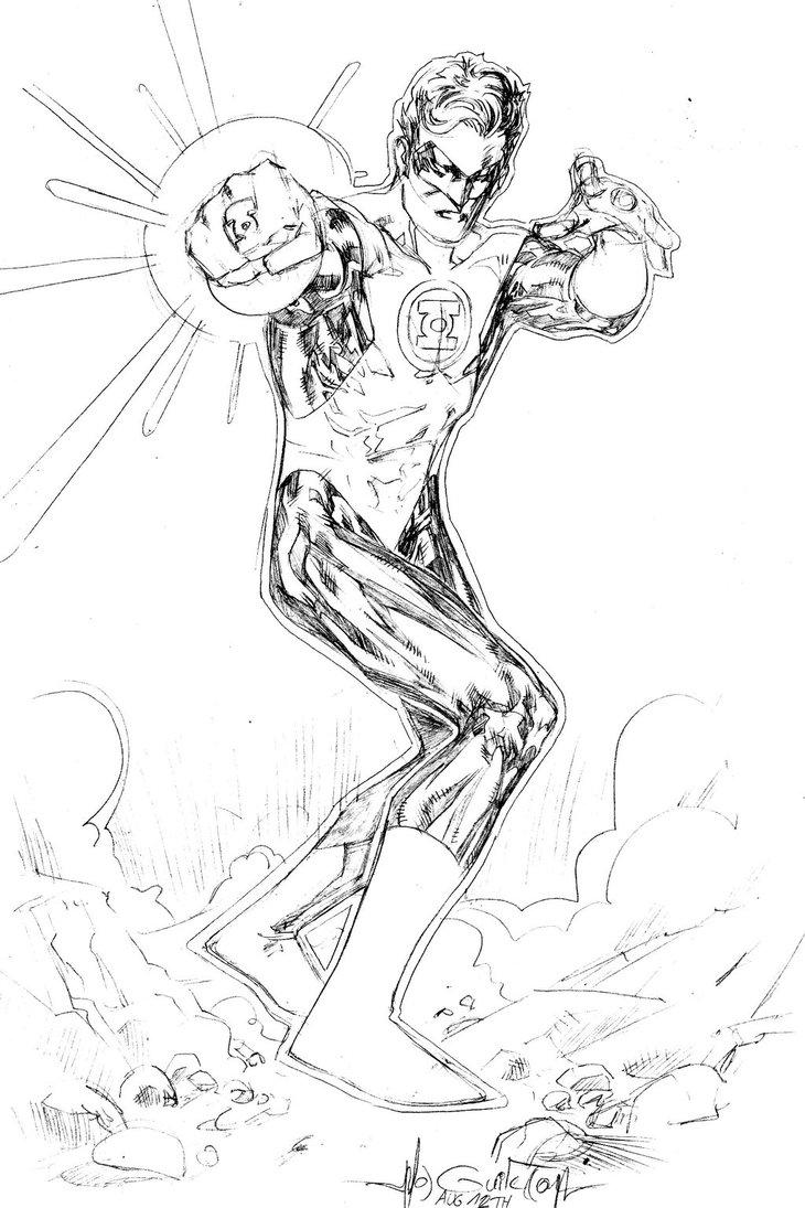 730x1095 Green Lantern Hal Jordan By Spiderguile