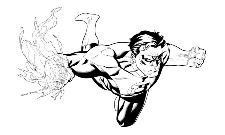 900x541 Green Lantern By Clayton Henry