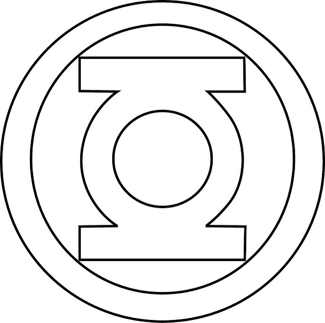640x635 Green Lantern Symbol Printable Green Lantern Patterns
