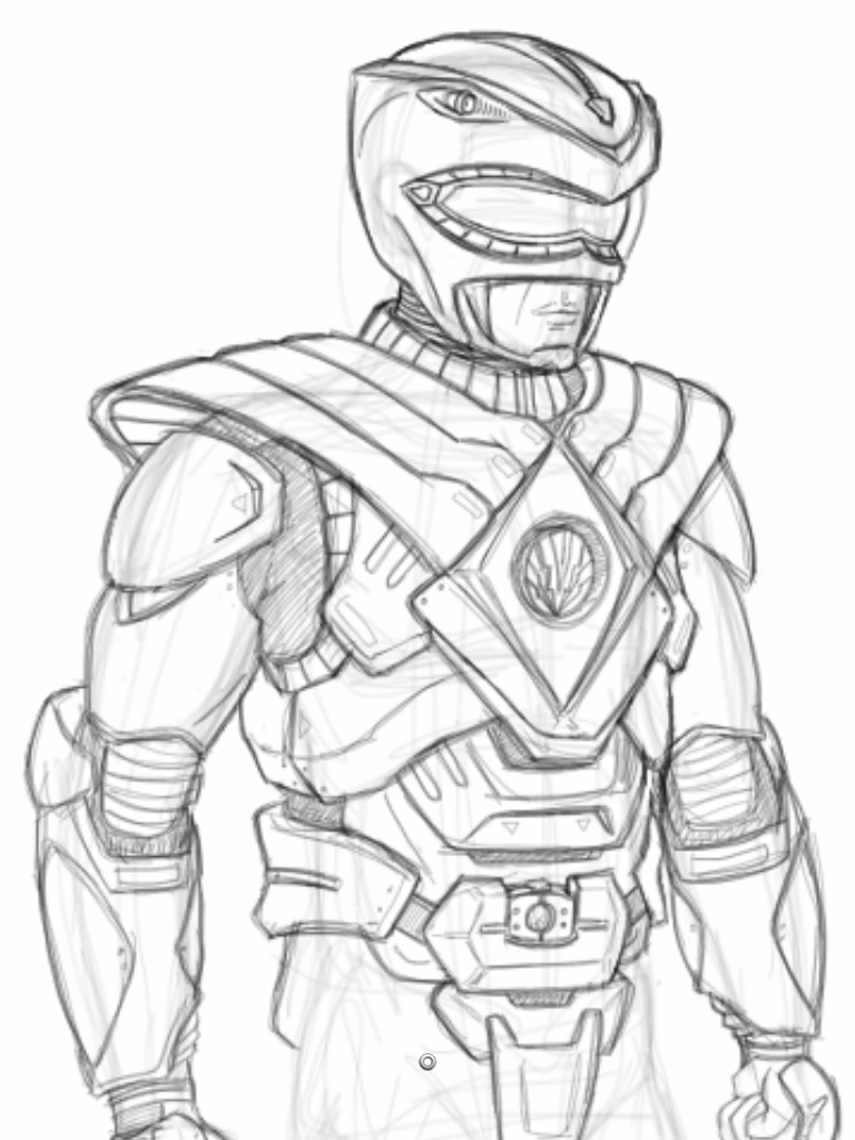 768x1024 Power Ranger Concept 03 By Torsoboyprints