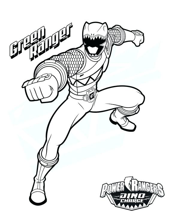 Green Power Ranger Drawing At Getdrawings Com Free For