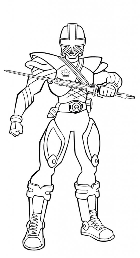 558x1024 Printable Power Rangers Samurai Picture To Color Superheroes
