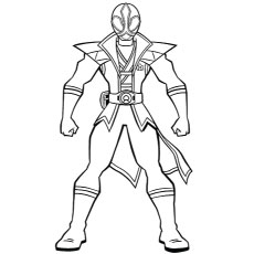 230x230 Top 25 Free Printable Power Rangers Megaforce Coloring Pages Online