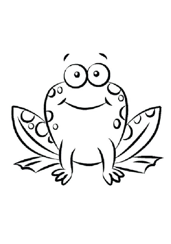 563x800 Frog Pictures To Color Green Frog Coloring Page Free Tree Frog