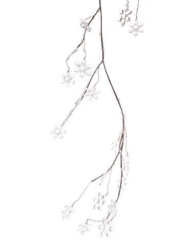 375x480 Holiday Greenery) Snowflake Garland Stephanie'S
