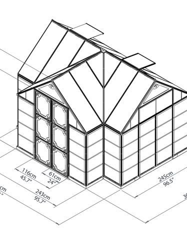 374x488 Orangery Greenhouse Gardening Deck Patio