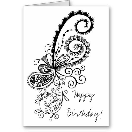512x512 Doodle Greeting Cards