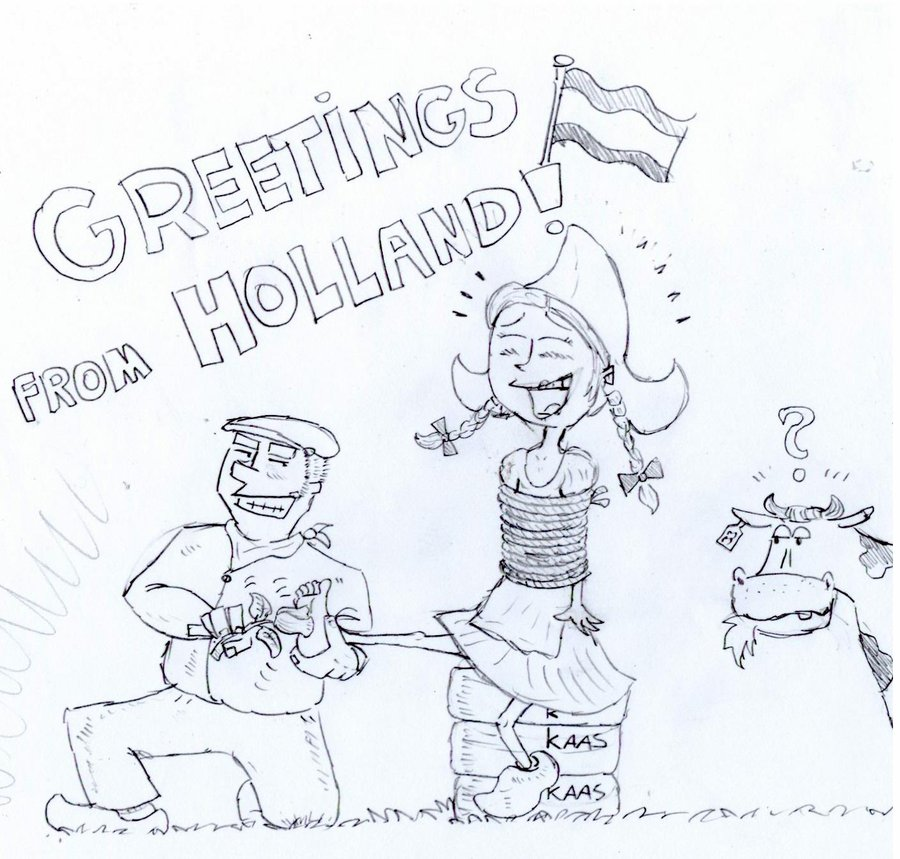 Greetings drawing at getdrawings free for personal use 900x859 greetings from holland by bebob4999 on deviantart m4hsunfo