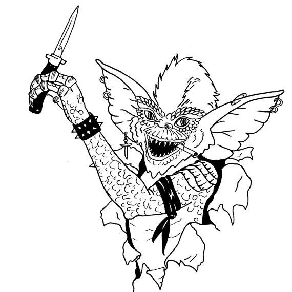 570x570 Gremlins Punk Stripe 80s Judas Priest Shirt