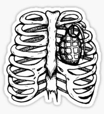 210x230 Hand Grenade Drawing Stickers Redbubble