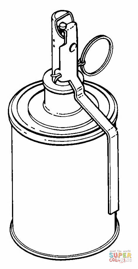 472x920 Rg 42 Grenade Coloring Page Free Printable Coloring Pages