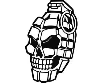 340x270 Skull Grenade Etsy