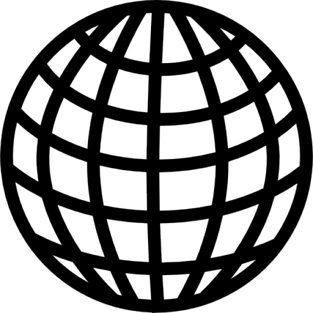 626x626 Earth Grid Circular Symbol Icons Free Download