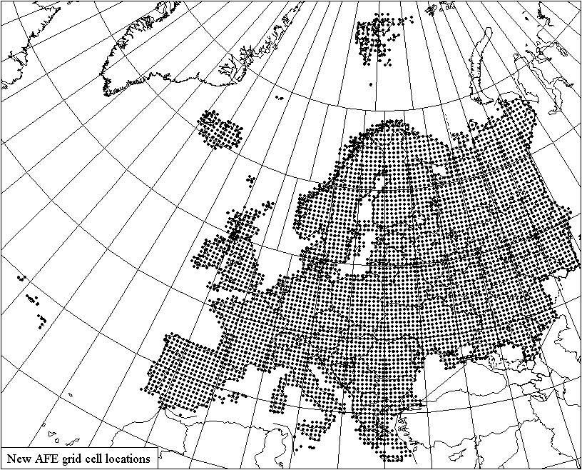 816x658 New Grid System Atlas Florae Europaeae Luomus