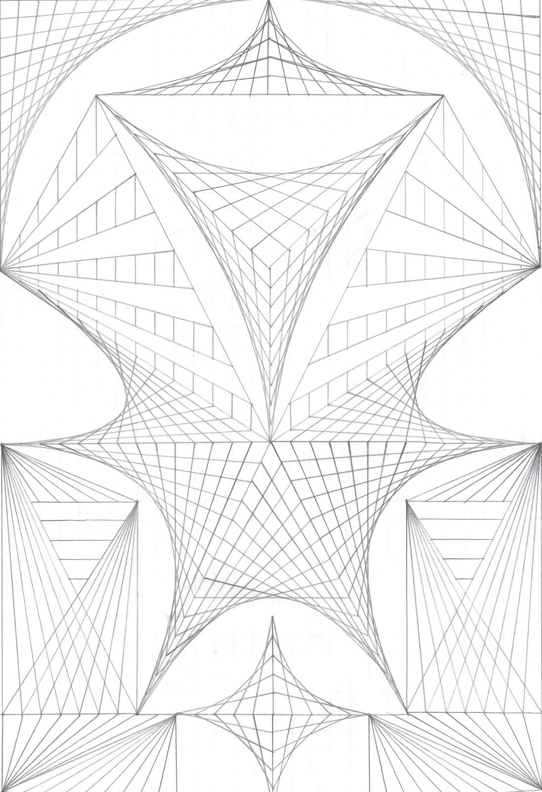 1096x1600 Drawings On Grid Paper