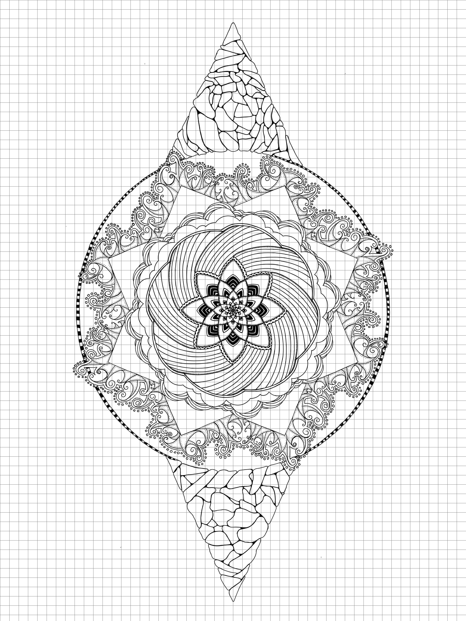 1800x2400 Drawing Grids With Python And Pillow Random Geekery