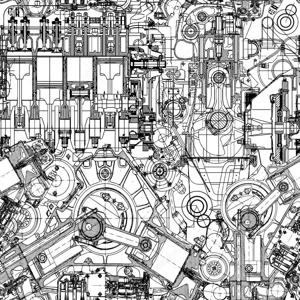 1024x1024 Engine Stock Vectors, Royalty Free Engine Illustrations