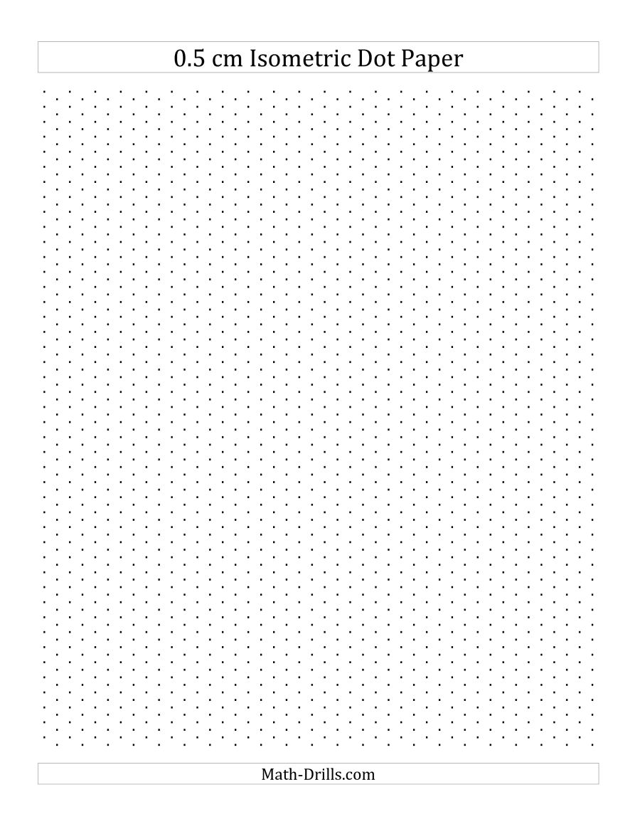 Grid Paper For Drawing
