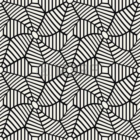 450x450 Vector Graphic Abstract Geometry Grid Pattern. Black And White