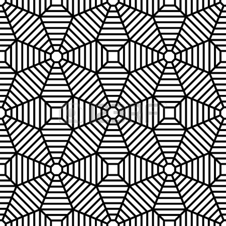 450x450 Vector Modern Seamless Geometry Pattern Grid, Black And White