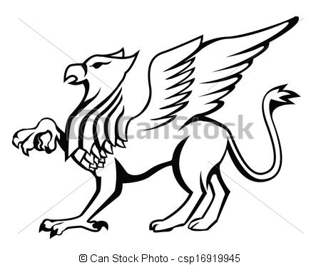 450x372 Eps Vector Of Griffin Csp16919945