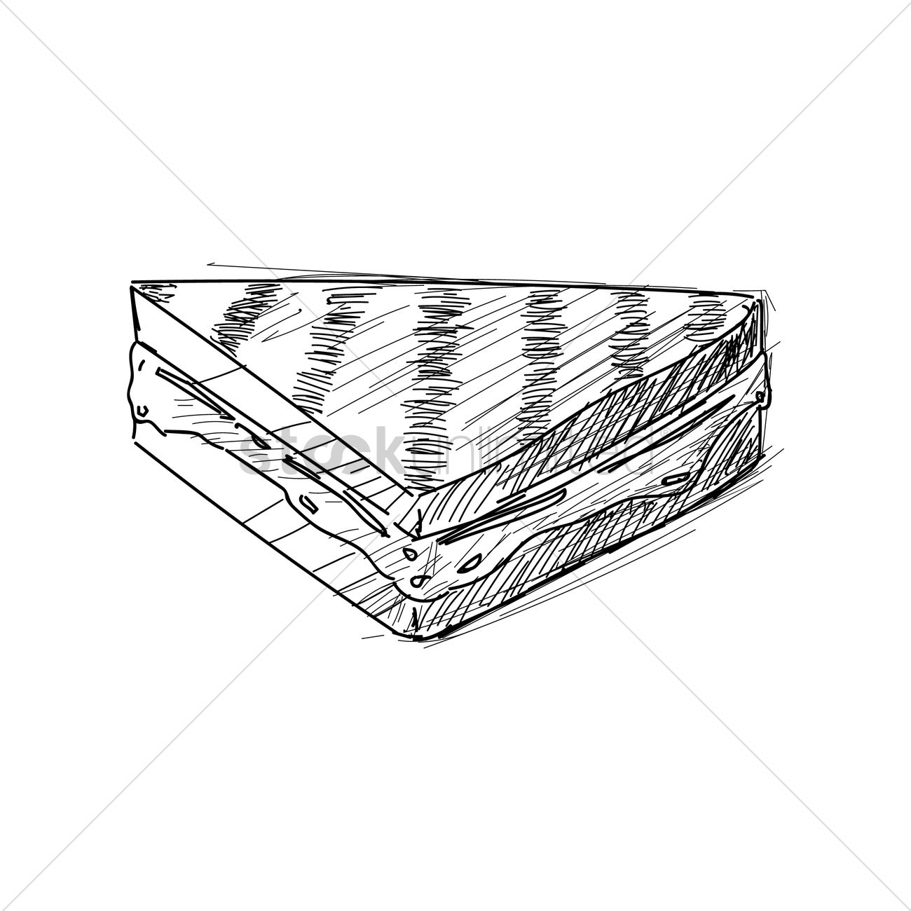 1300x1300 Grilled Cheese Sandwich Vector Image