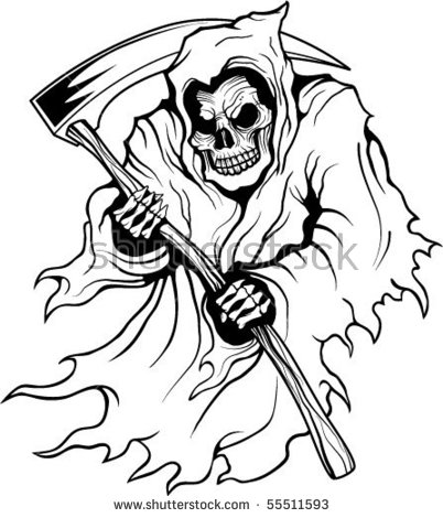 402x470 Grim Reaper Coloring Pages Grim Reaper Coloring Pages Grim Reaper