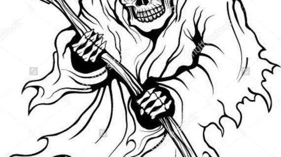 570x320 Drawings Of The Grim Reaper Grim Reaper Stock Photos Images Amp