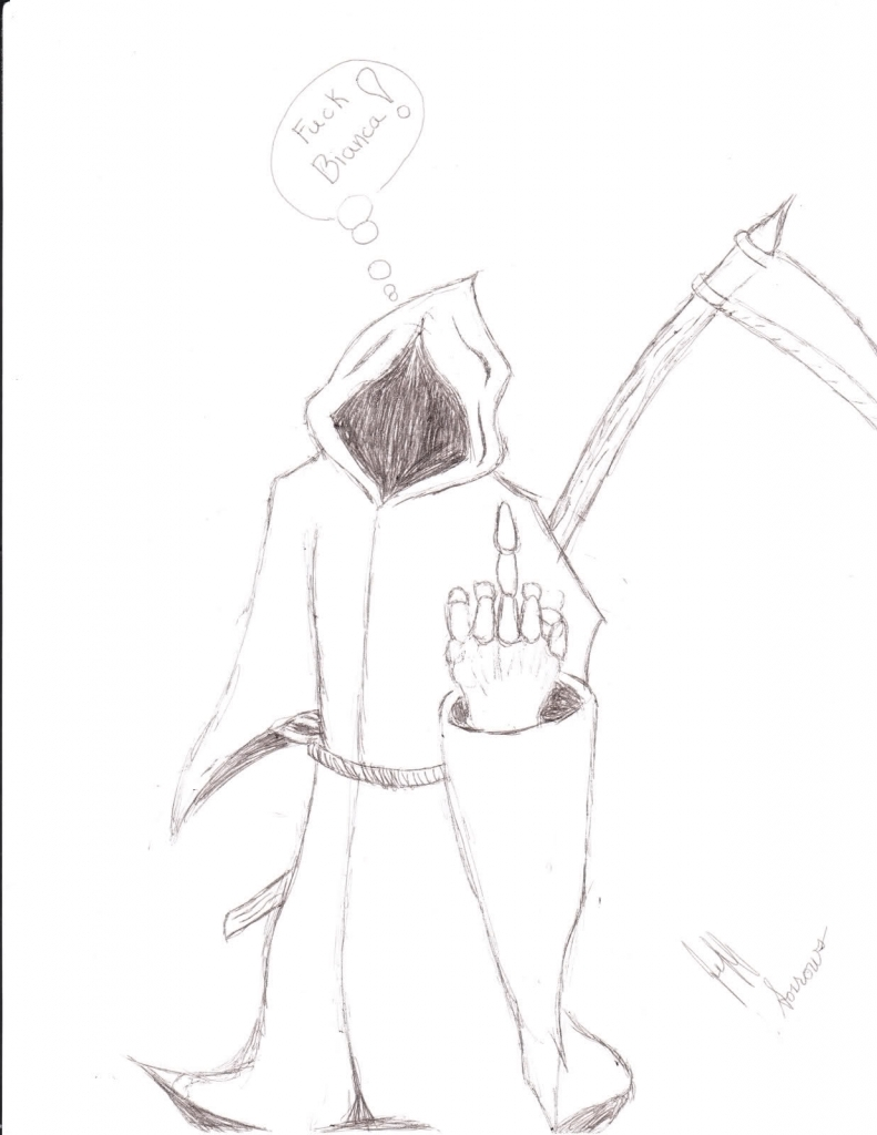 791x1024 How To Draw Grim Reaper The Grim Reaper Drawing Contest