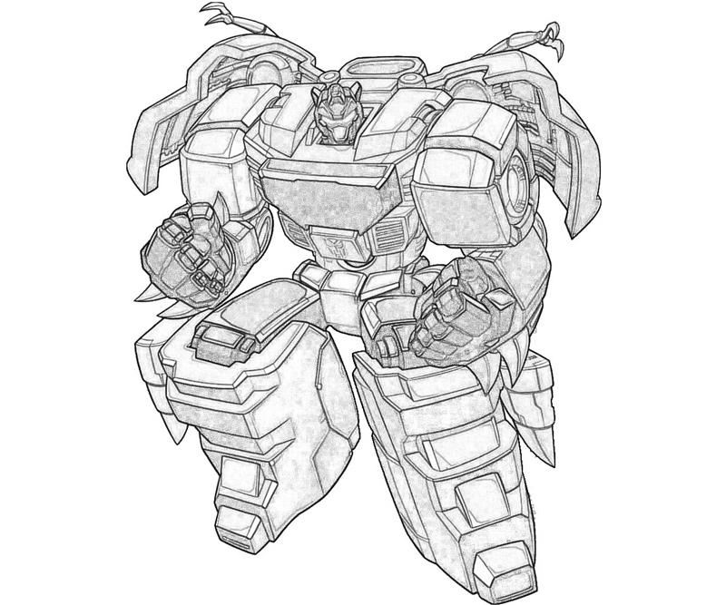 800x667 Grimlock Coloring Pages