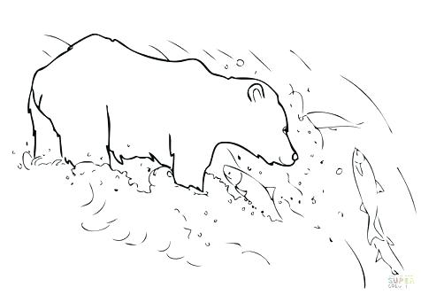 476x333 Grizzly Bear Coloring Pages Bears Coloring Pages Free Printable