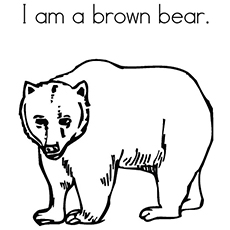230x230 Top 10 Free Printable Brown Bear Coloring Pages Online