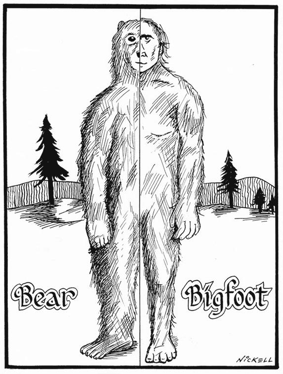 573x755 Bigfoot Lookalikes Tracking Hairy Man Beasts