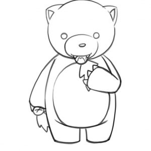300x300 Adult Easy Drawing Of A Bear Easy Drawing Of A Bear. Easy Drawing