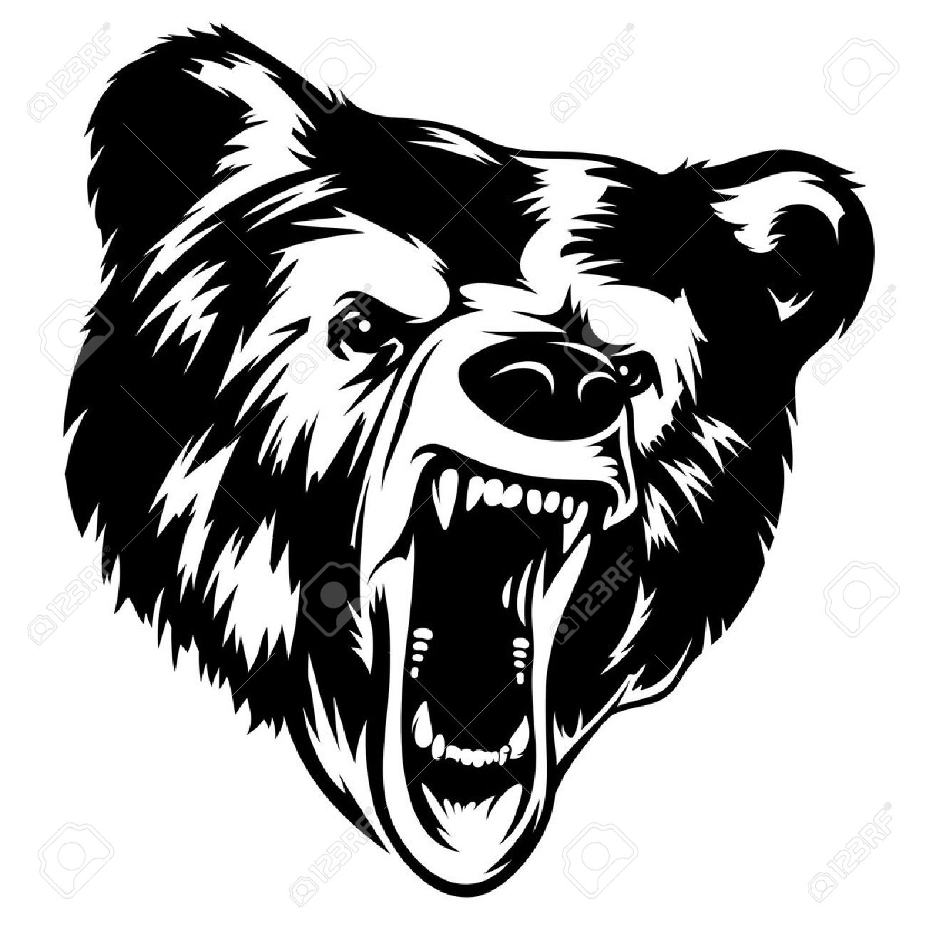 1300x1300 7,359 Grizzly Bear Cliparts, Stock Vector And Royalty Free Grizzly