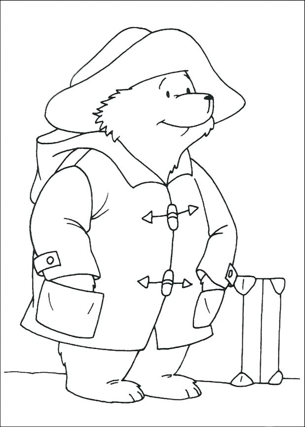 618x865 Grizzly Bear Coloring Pages As Awe Inspiring Bear Amazing Color
