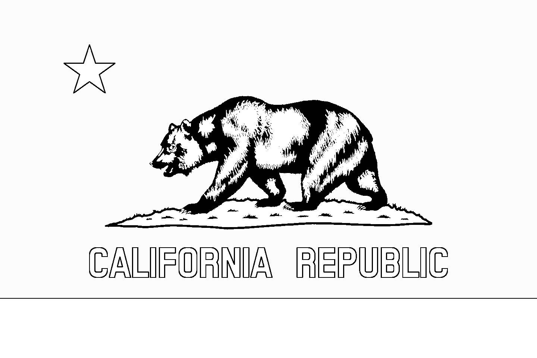 1440x960 California State Flag