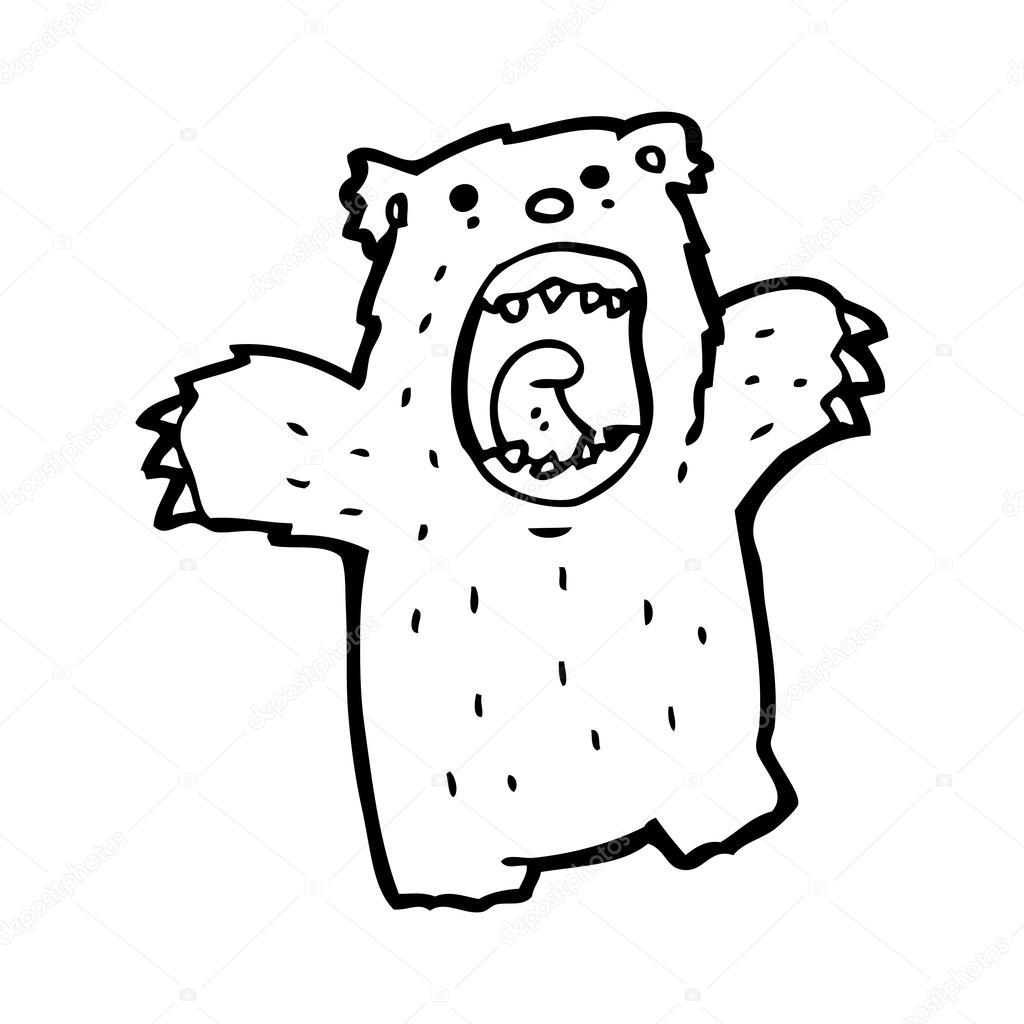 1024x1024 Grizzly Bear Cartoon Stock Vector Lineartestpilot
