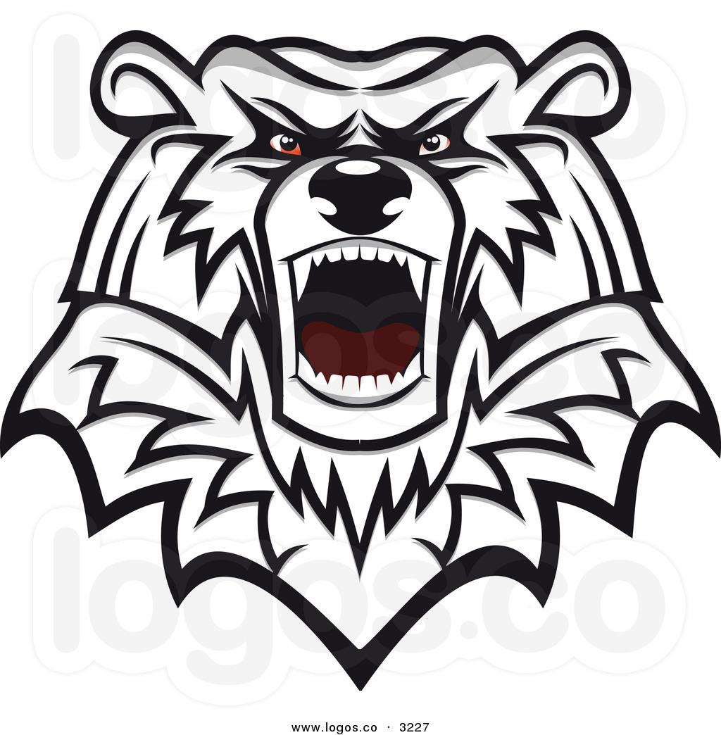 1024x1044 Drawn Grizzly Bear Mad Bear