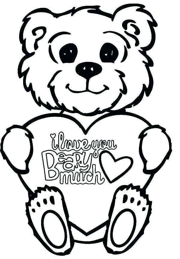 600x862 Panda Bear Coloring Pages Free Grizzly In Addition To Little
