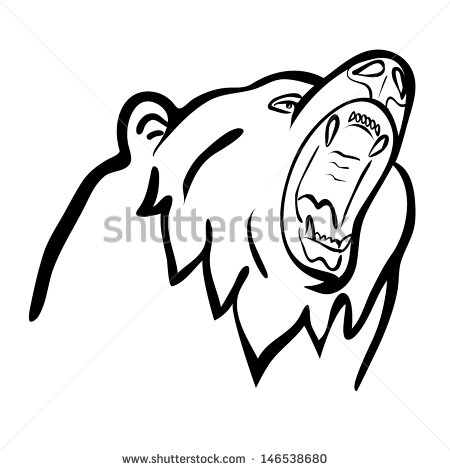 450x470 Best Photos Of Grizzly Bear Outline