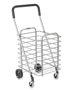 241x300 Superlight Aluminum Folding Shopping Cart W Wheels, Utility