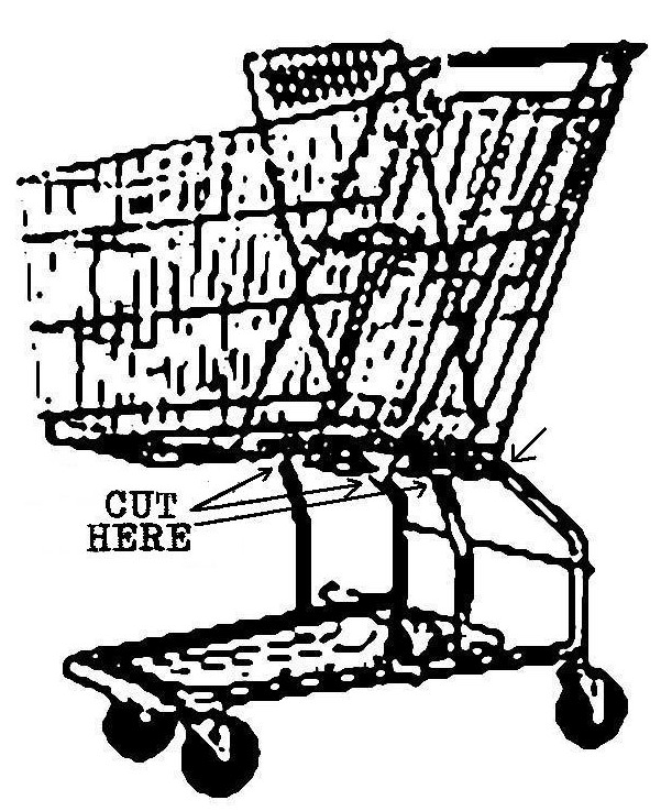 611x737 Grocery Cart Bike Howandsometimeswhy