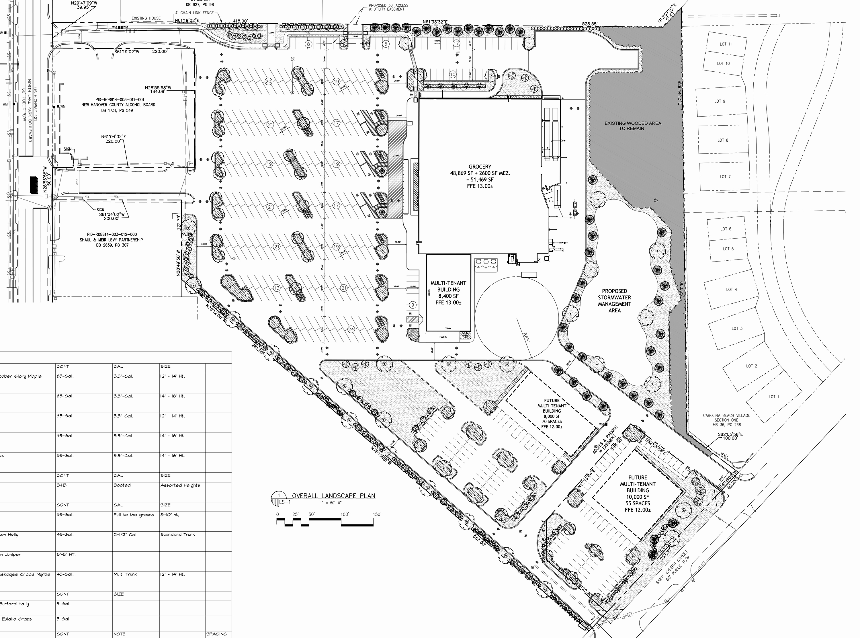 3000x2225 Federal Point Shopping Center Set For Redevelopment New Grocery Store