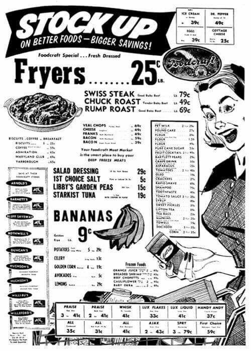 500x700 40 Best Vintage Ads Grocery Images On Vintage Ads