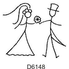 Groom And Bride Drawing